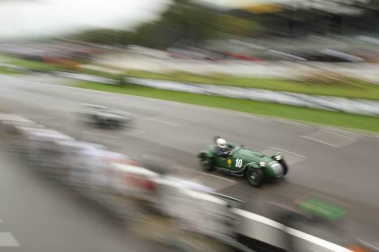 Frazer Nash Le Mans Replica, 2016 Goodwood Revival, Lavant Cup (photo: Adam Beresford)