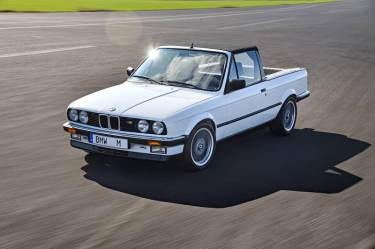 BMW M3 Pickup, concept car 1986
