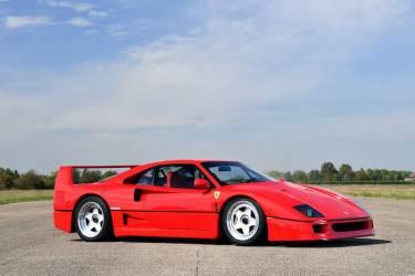 1991 Ferrari F40 (photo: Tim Scott)