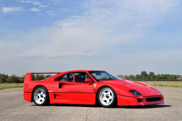 1991 Ferrari F40 (photo: Tim Scott)