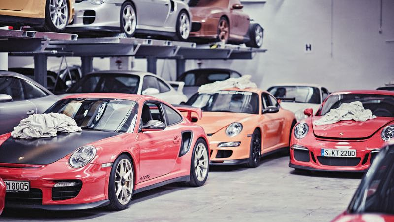 Porsche Warehouse