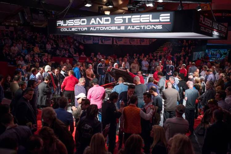 Russo and Steele Auction Action