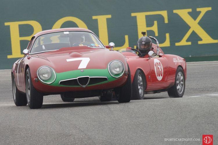 Marnix Dillenius - 1964 Alfa Romeo TZ Coupe