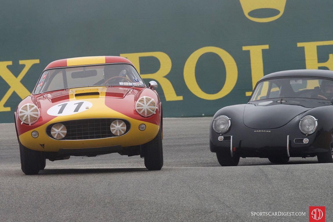 Chuck Wegner - 1959 Ferrari 250 LWB