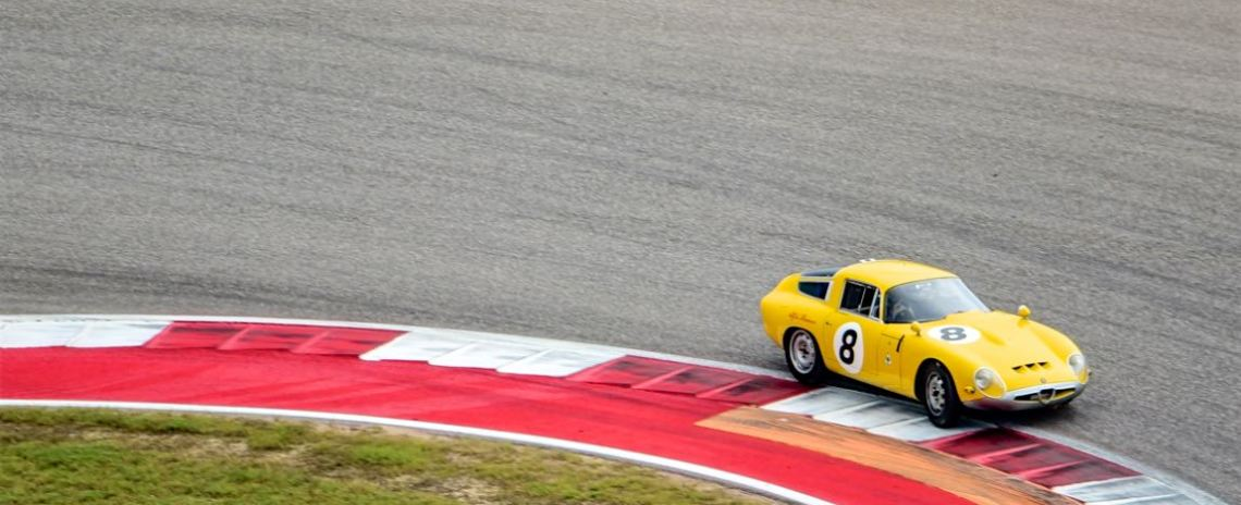 1963 Alfa Romeo TZ with Joe Colasacco.