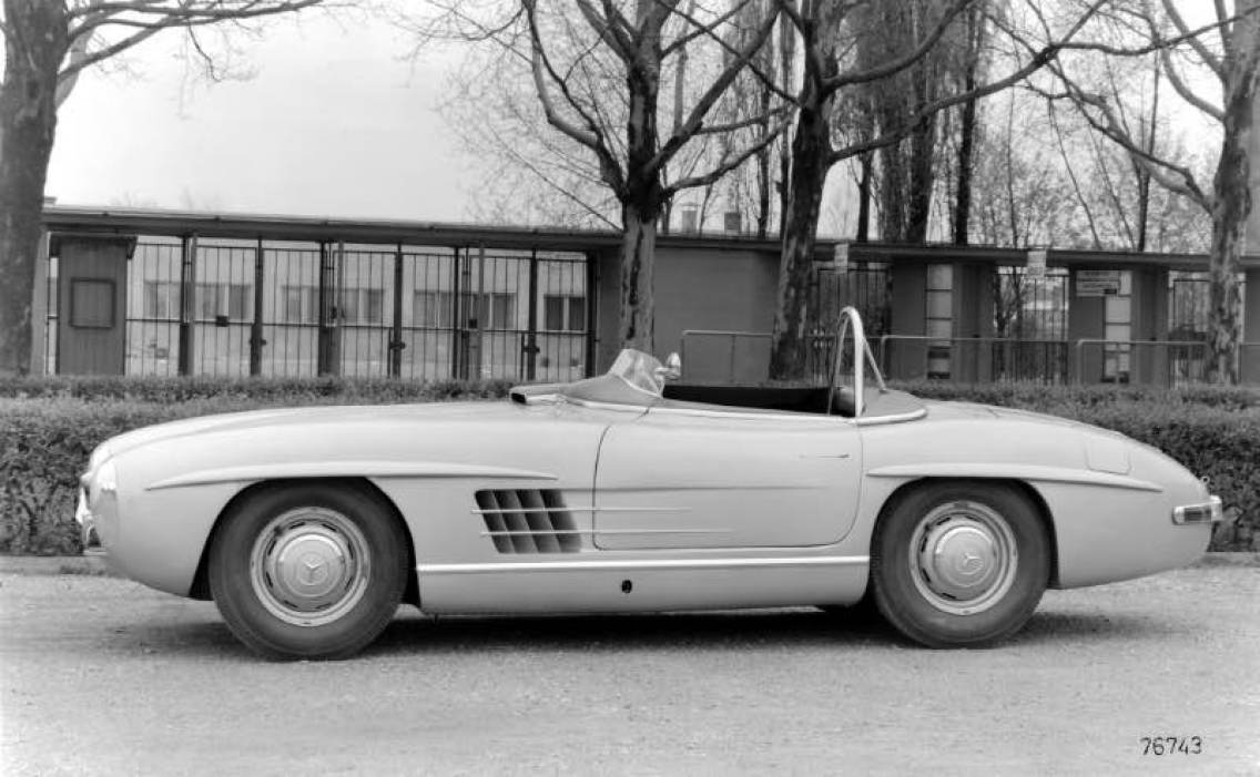 Mercedes-Benz touring sports car 300 SLS (W 198), 1957