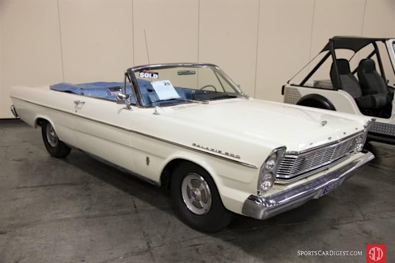 1965 Ford Galaxie 500 Convertible