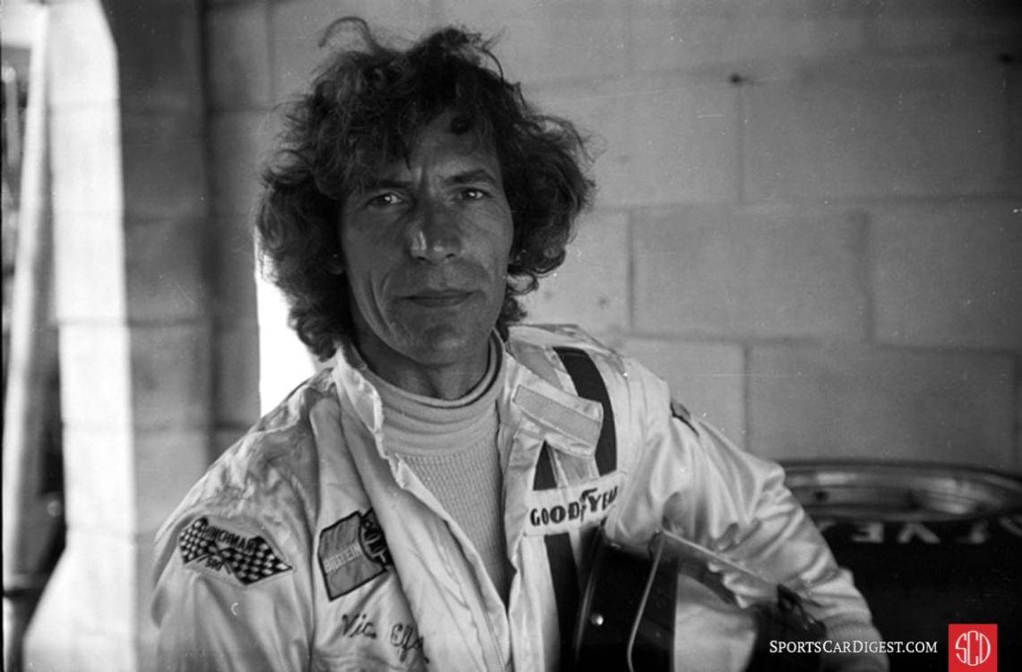 Martini & Rossi driver Vic Elford (Photo: www.autosportsltd.com)