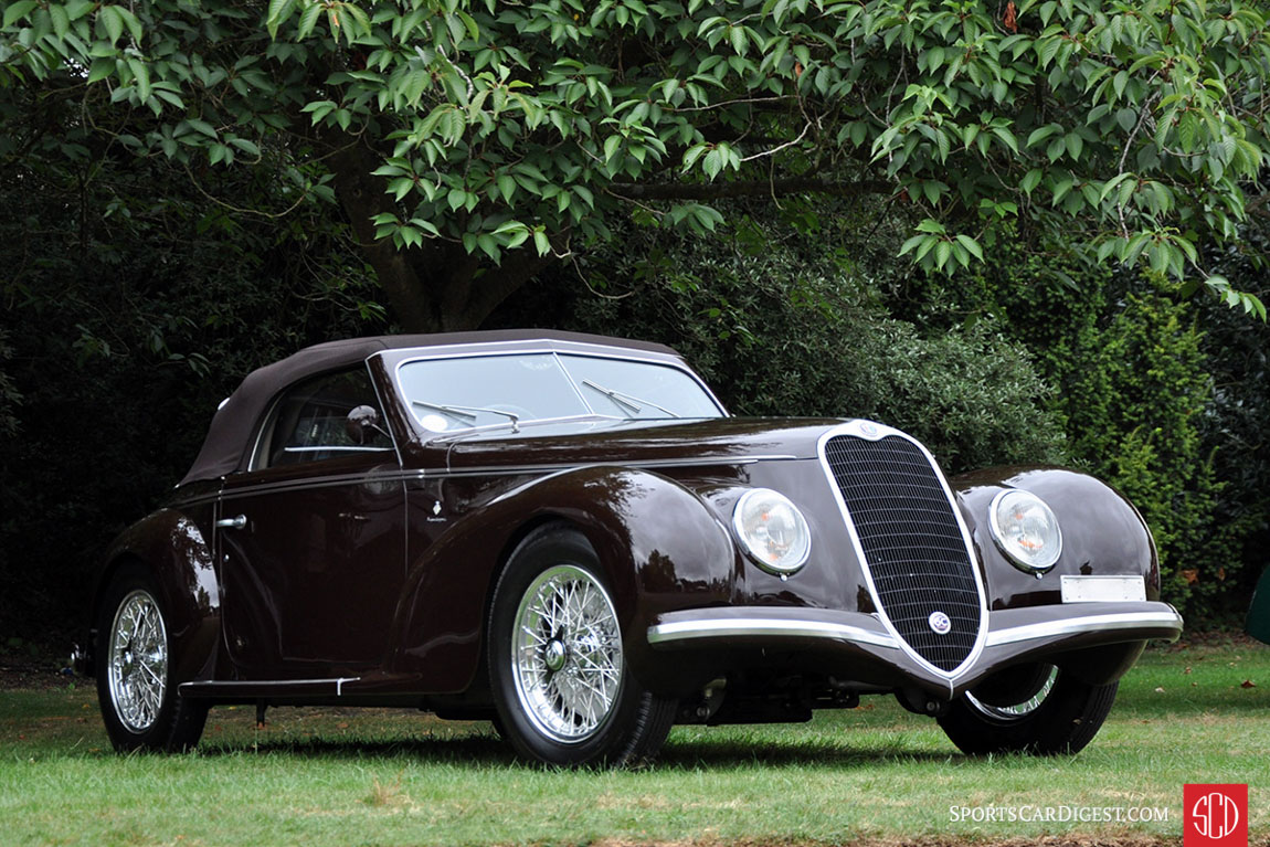Alfa Romeo 6C 2500 Sport Cabriolet by Touring (1939 )