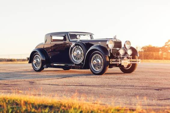 1930 Stutz Model M Supercharged Coupe (photo: Theo Civitello)