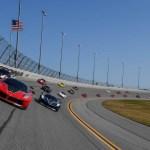 Ferrari Celebration on High Banks of Daytona