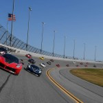 Ferrari Celebration on High Banks of Daytona