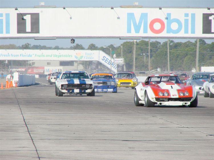 HSR Sebring Challenge Chevrolet Corvette L88
