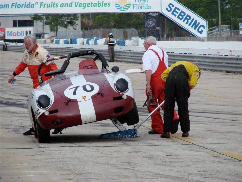 HSR Sebring Challenge Porsche 356 B