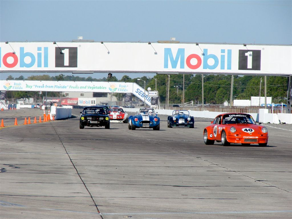 HSR Sebring Challenge Porsche 911 RSR