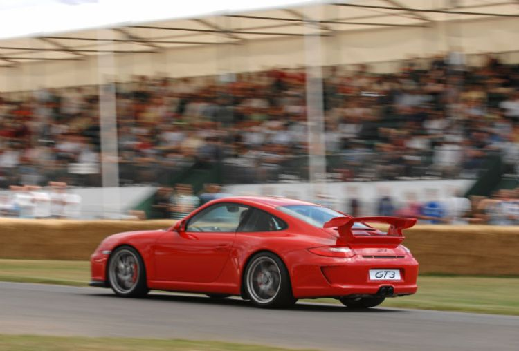 Porsche GT3 Super Car Run