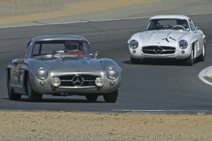 1955 Mercedes 300SL - Alex Curtis and 1954 300SL - Steve Marx