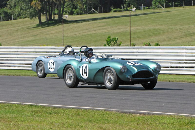 1955 Aston Martin DB3S - John Romano