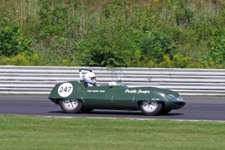 1958 Elva Mark IV 'Puddle Jumper' - Robert Hughes