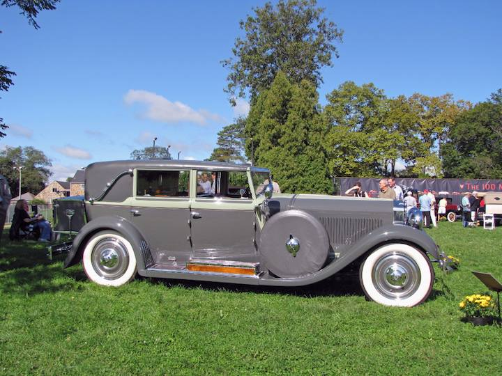 1929 Isotta-Fraschini Tipo 8A Limousine by Castagna