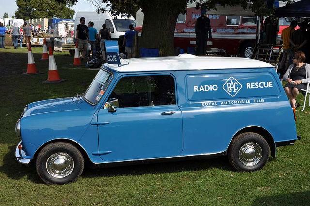 Rac Mini Van Rescue Vehicle