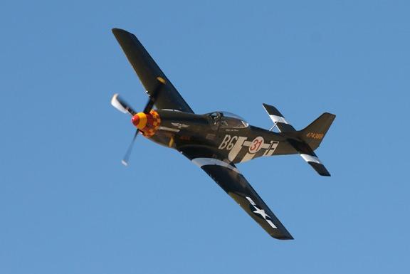 Rob Gordon in Speedball Alice P-51D Mustang