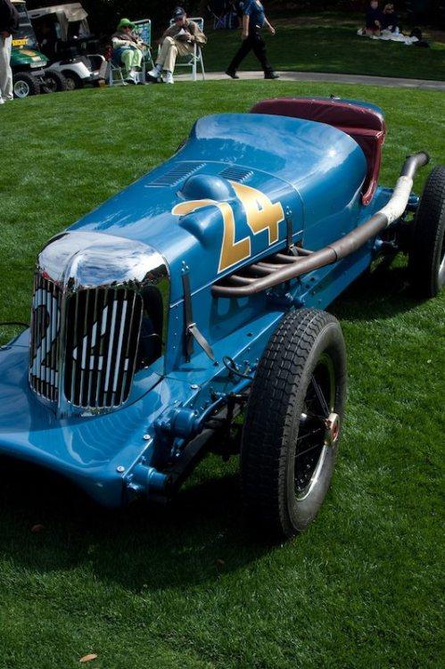 1934 Lucenti Indy Race Car - William and Joan Perretti