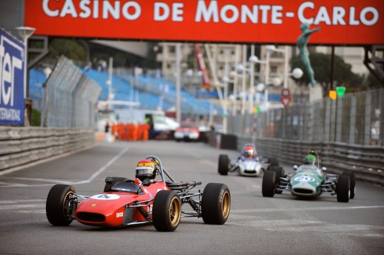 Tecno F3 of Hermann Unold leads Brabham BT21 of Michel Gendre