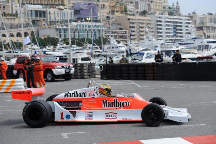 1976 McLaren M26 of Christophe D'Ansembourg