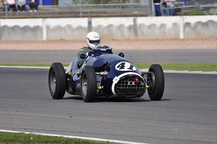1952 Connaught A driven by Andrian Van der Kroft