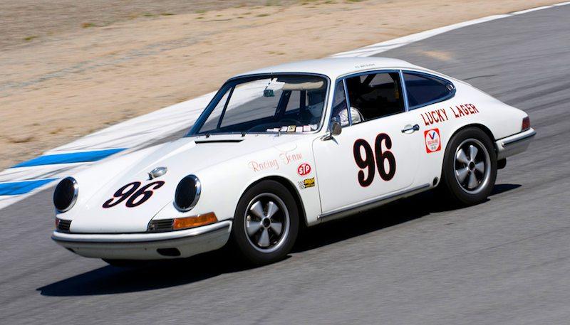 1967 Porsche 911R of Ed Matsuishi.