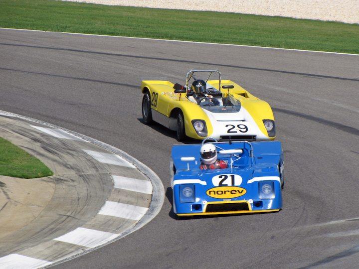 Chevron B23 - Nick Incantalupo and Lola T212 - Jeffrey Anderson