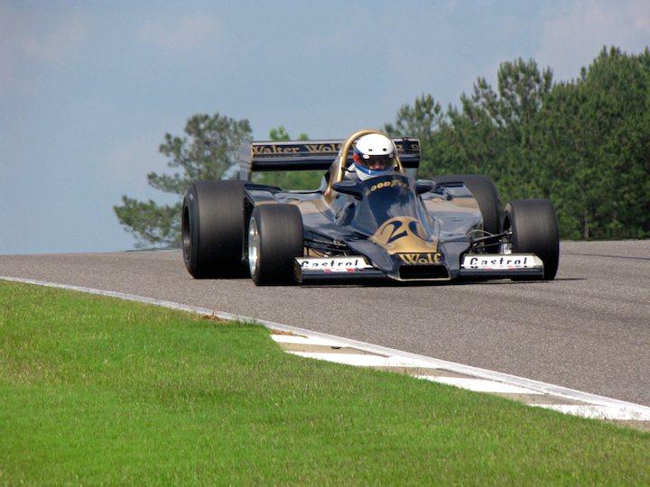 Ex-Jody Scheckte 1977 Wolf F1 WR2/4 - John Anderson
