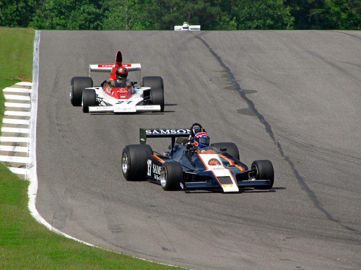 Shadow DN8 - Charles Warner and Vels Parnelli F1 - David Olson