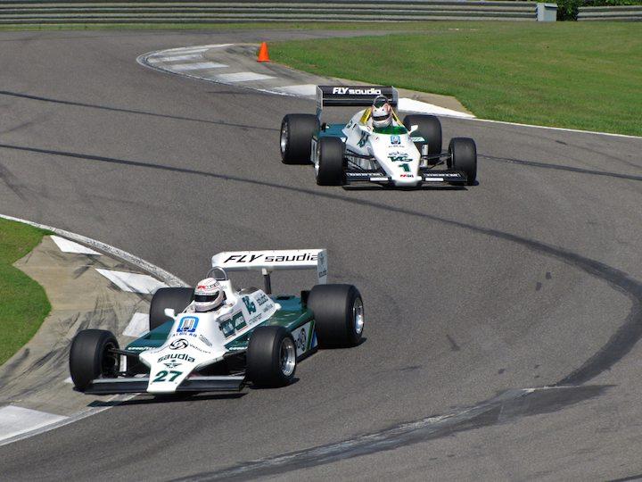 Williams FW07B - Hamish Somerville and Williams FW08C - Michael Fitzgerald