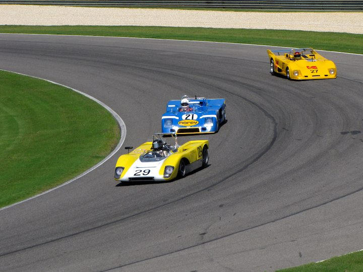 Lola T212 - Jeffrey Anderson and Chevron B23 - Nick Incantalupo