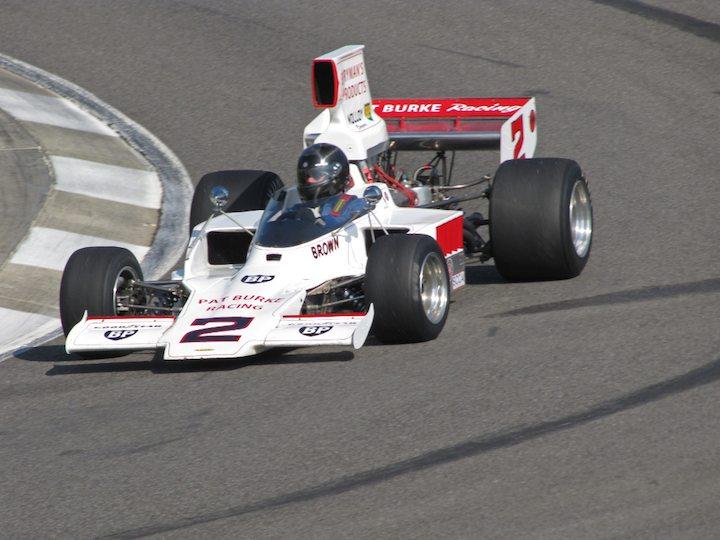Lola T332 F5000 - Dudley Cunningham