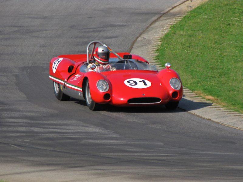 Cooper Monaco-Ferrari - Fred Burke