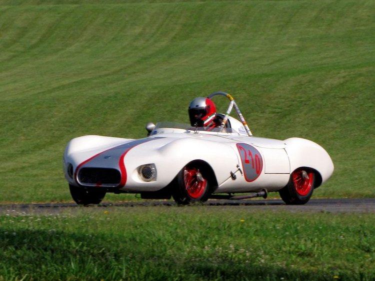 Elva Mk II - Fred Burke