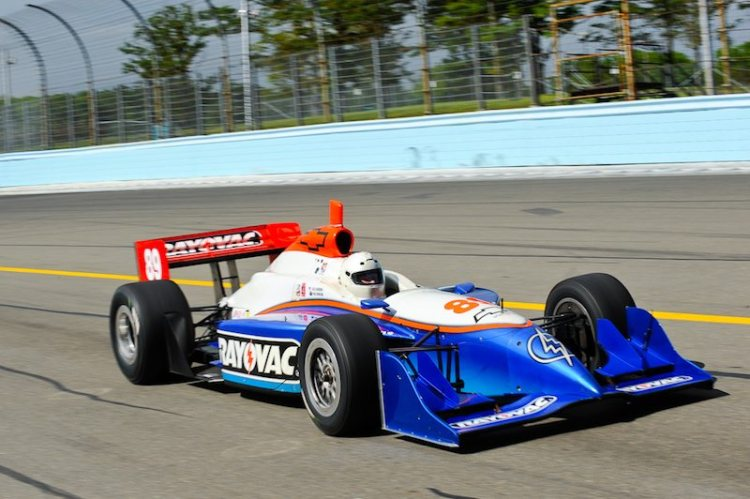 Paul Morgan - 2002 Dallara Indy Car