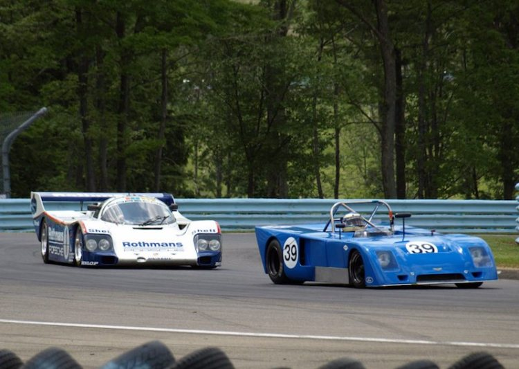 James Richmond - Chevron B23 and Porsche 962 - Johan Woerheide