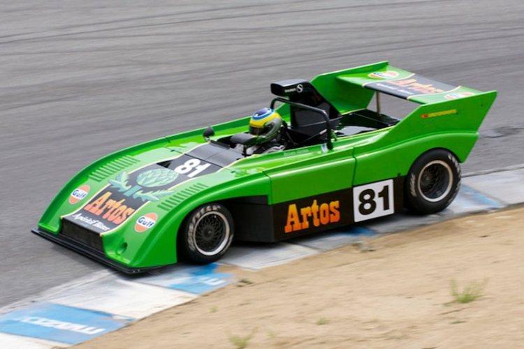 Sauber C4 driven by Brian Croza.