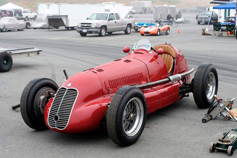 Mary Smith's 1939 Maserati 4CL.