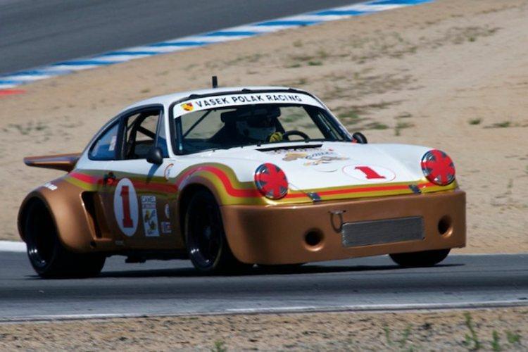 George Follmer in a 1975 Porsche RSR turn 5.