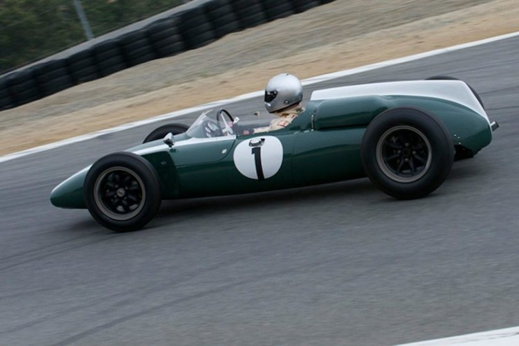 1960 Cooper T53 F-1 driven by Mark Gilles and Paddins Dowling