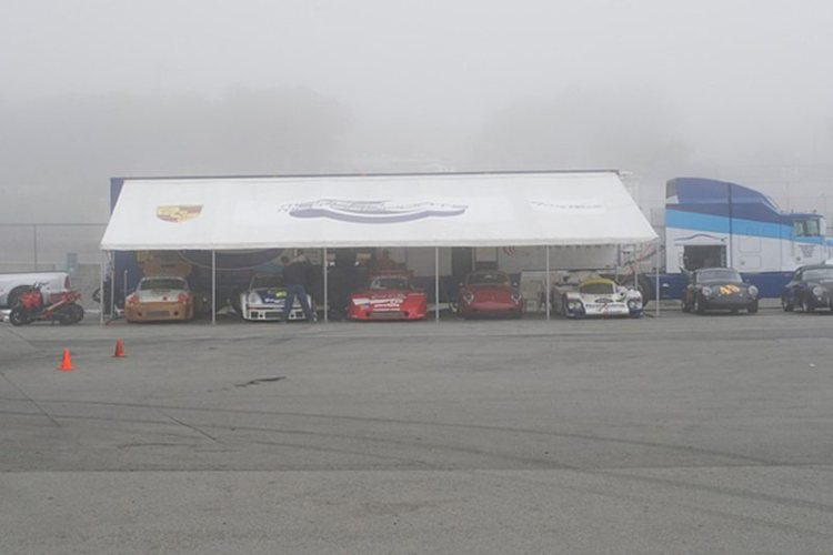 Fog greets the competitors Tuesday and Wednesday.