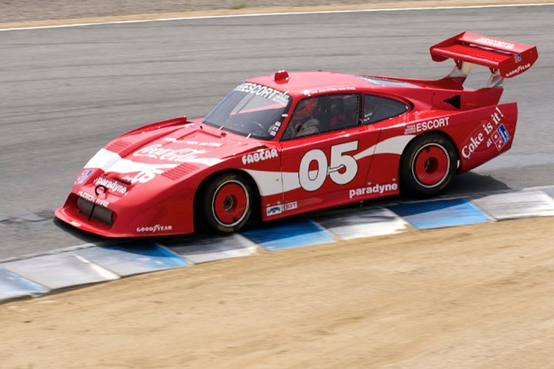 James Edwards' Coca-Cola liveried 1984 Porsche 935.