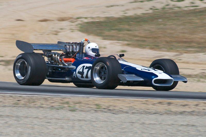 Steve Davis in his 1969 Eagle Mk5 F5000