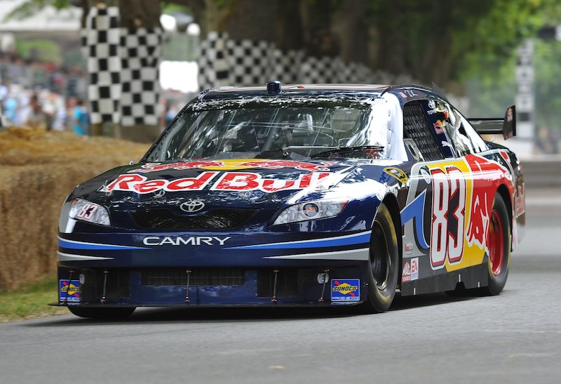 NASCAR Red Bull Toyota Camry driven by Michael Waltrip