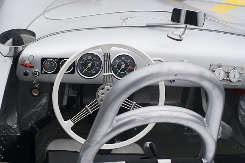 Porsche Glockler cockpit